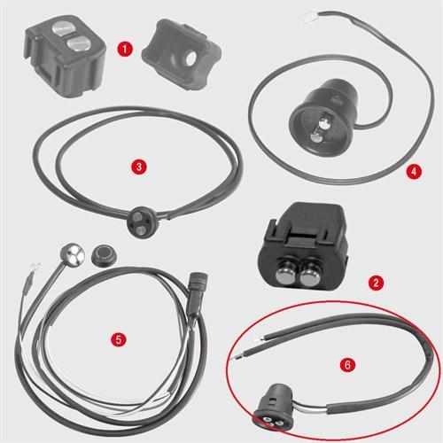 Gıvı Z2109r Çanta Konnektör Ve Kablosu Bagaj Içın (3 Kutuplu)