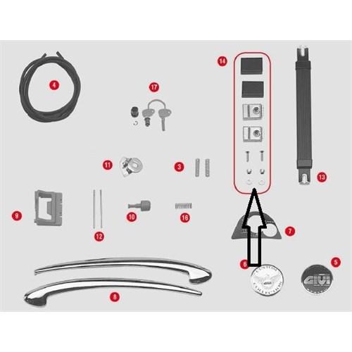 Gıvı Z606 Çanta Tutma Sabıtleyıcı E21