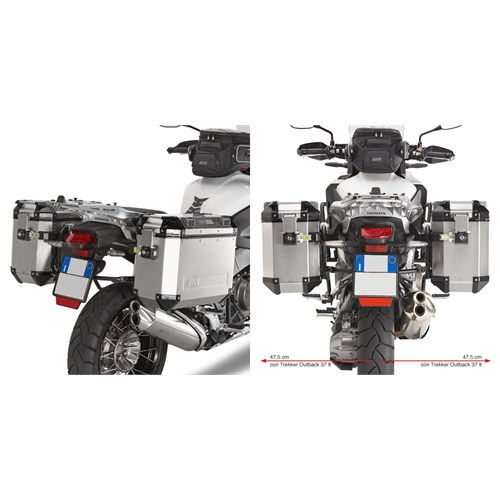 Gıvı Plr1110cam Honda Vfr 1200X Crosstourer (12-15) Yan Çanta Tasıyıcı