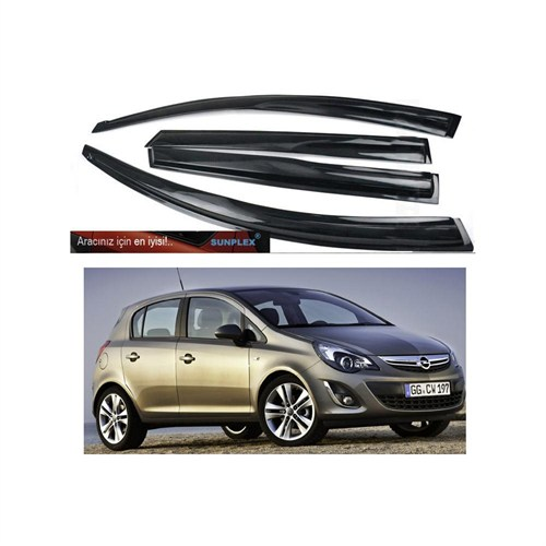 Sunplex Mugen Opel Corsa D Kasa 4 Kapı Rüzgarlık Seti 104509