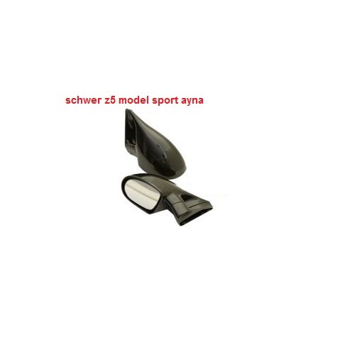 Schwer Z5 Model Dış Dikiz Ayna Seti Siyah