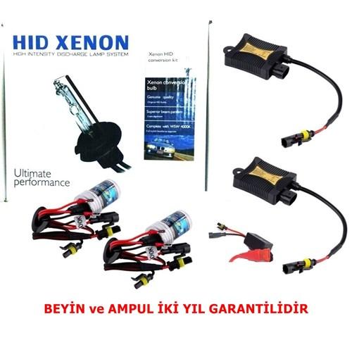 Schwer H27 8000K Xenon Far Seti İnce Slim Dijital Balats