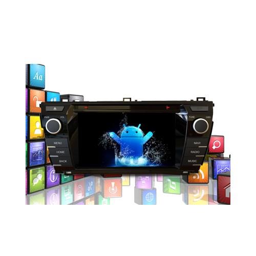 Cyclone Toyota Corolla Android Menü Dvd Ve Multimedya Sistemi