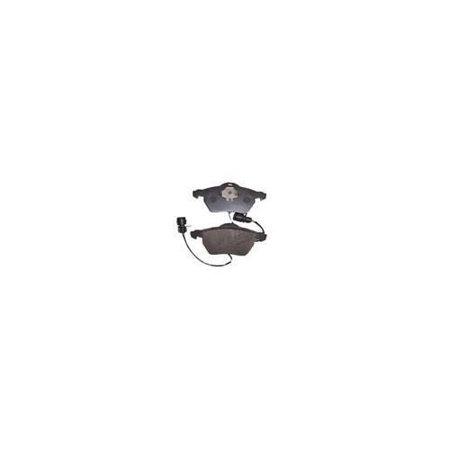 Audı A4- 02/05 Ön Fren Balatası Kablolu Yuvarlak Soketli