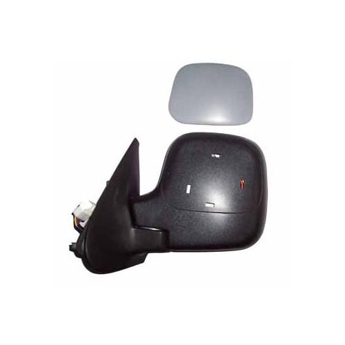 Peugeot Partner- 96/02 Kapı Aynası Sol Elektrikli Isıtmalı Gri K