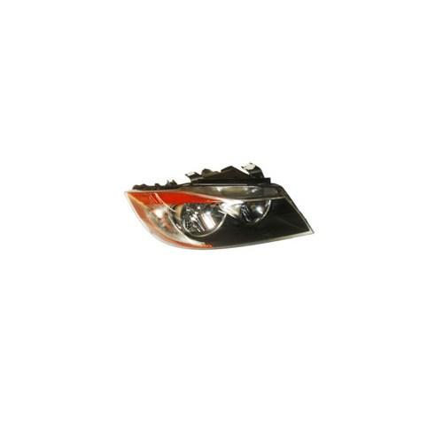 Bmw 3 Serı- E90- 05/09 Far Lambası Sağ Siyah/Elektrikli