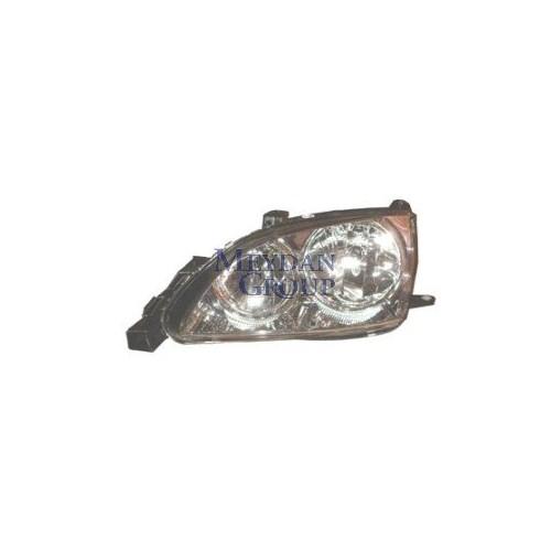 Toyota Avensıs- 01/02 Far Lambası Sol Elektrikli Beyaz Şeffaf Ca