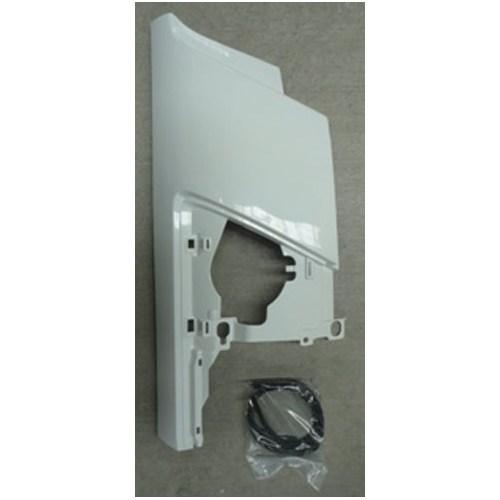 Isuzu Npr/Nkr 3D Kmy- 10/11 Ön Köşe Paneli Sağ Beyaz Plastik