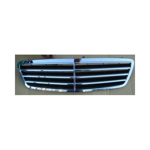 Mercedes C Class- W203- 04/07 Ön Panjur Nikelajlı/Siyah