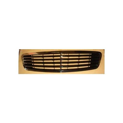 Mercedes S Class- W220- 98/01 Ön Panjur Nikelajlı/Siyah