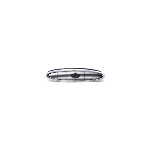 Ford Mondeo- 97/00 Ön Panjur Siyah/Nikelaj Kaplamalı