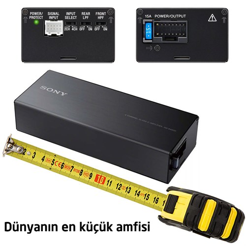 Sony XM-S400D 4 Kanal Amplifikatör