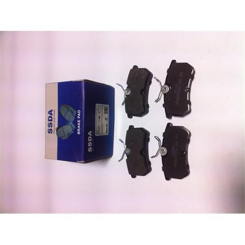 Ford Focus 1.6i-1.8i-2.0i Arka Fren Balatası 1075565
