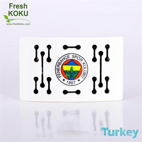 Fresh Koku Fenerbahçe 43041B Fresh Oto Kokusu Beyaz, Fruity Melody