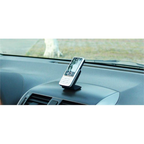Z tech Mıknatıslı Deri Kaplı Mini Cep Telefonu tutacağı