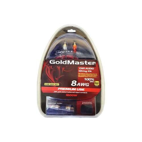 Goldmaster CAB-922 Oto Kablolama Seti