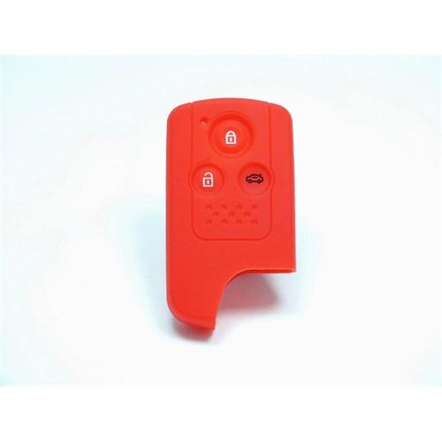 Gsk Honda Civic Kumanda Kabı Koruyucu Kılıf 3 Tuş ( Kırmızı )