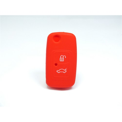 Chery Anahtar Kabı Koruyucu Kılıf 2 Tuş ( Kırmızı )