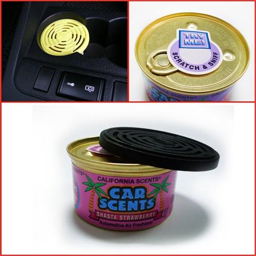 California Car Scents Çilek Kokusu (Made in U.S.A.)