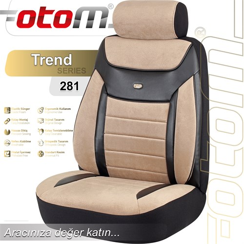 Otom Trend Standart Oto Koltuk Kılıfı Tnd-281