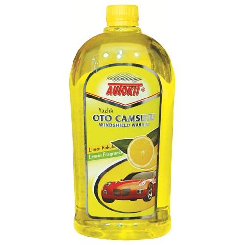 """Autokit Yazlık Cam Suyu 1 Lt """"Limon"""""""