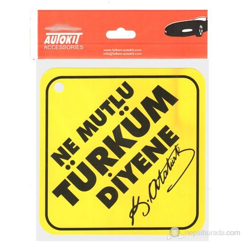 """Oto Stıker """"Ne Mutlu Türküm Diyene"""""""