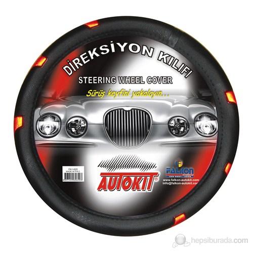"""Autokit Direksiyon Kılıfı Nikelajlı -Fosforlu """"Renkli"""""""