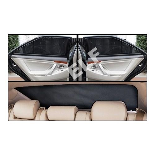 Toyota Hilux 2007-2011 Lüks Takmatik Perde (3 Parça)