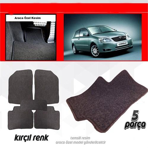 Schwer Opel MERİVA Halılı Oto Paspas Seti Kırçıl-4733