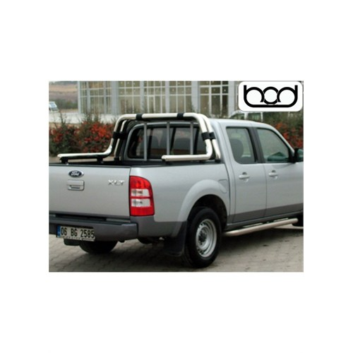 Bod Ford Ranger Double Rollbar (70 Mm) Koruma 2006-2011