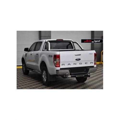 Bod Ford Ranger Poliüretan+Krom Arka Koruma Bry-758