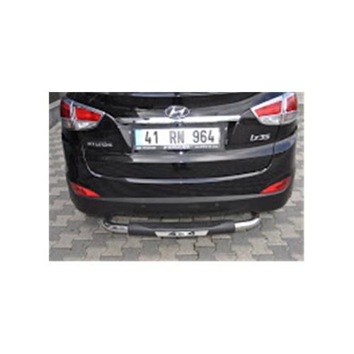 Bod Hyundai Santa Fe Poliüretan+Krom Arka Koruma Bry-758