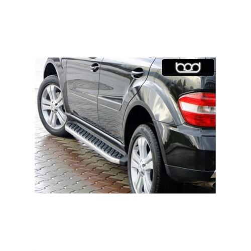 Bod Mercedes Ml 2006 Ve Sonrası Hitit-X Krom Yan Koruma