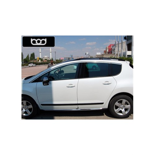 Bod Peugeot 3008 Alüminyum Port Bagaj Siyah 2012-2014