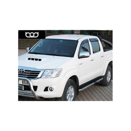 Bod Toyota Hilux 2012 Ve Sonrası Hitit-X Krom Yan Koruma