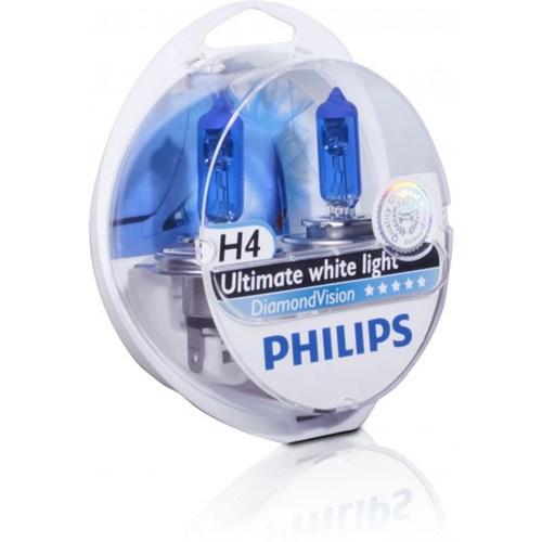 Philips H4 Diamond Vision 12V 60/55W Far Ampulü