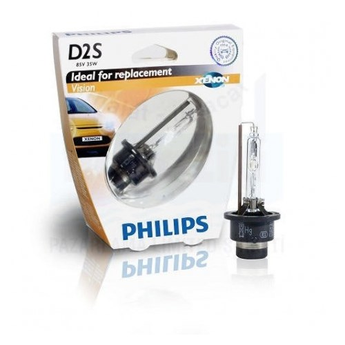 Philips D2s Xenon Far Ampulü 85V 35W 4600K Xenon Tip Far Ampulü