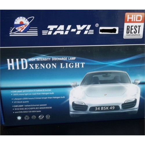 Tai-Yi Xenon Far Set H4 8000K