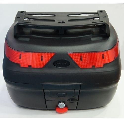 Maxem SL-40 Kargo Siyah Arka Çanta + Üst Taşıma Demiri + Sırtlık
