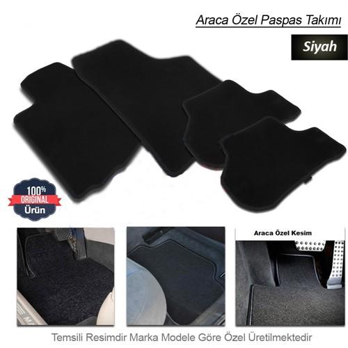 Schwer Opel ASTRA G Halılı Oto Paspas Seti Siyah-4710