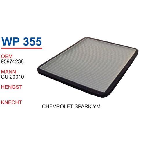 Wunder Chevrolet Spark Yeni Model Polen Filtresi Oem No:95974238