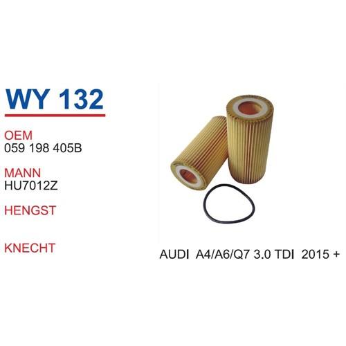 Wunder Audı A6 3.0 Tdı 2015 >> Yağ Filtresi Oem No:059198405B