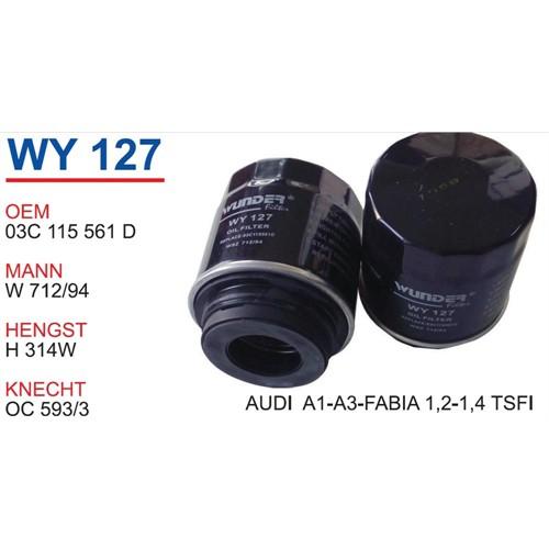 Wunder Audı A31.2-1.4 Tsı Yağ Filtresi Oem No:03C115561d