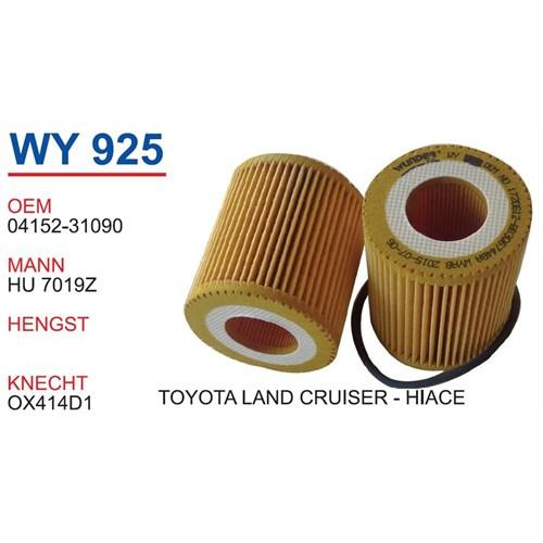 Wunder Toyota Camry 2.5 3.5 Vvtı Yağ Filtresi Oem No:04152-31090