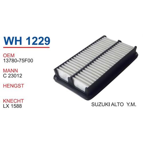 Wunder Suzukı Alto Yeni Model Hava Filtresi Oem No:13780-75F00