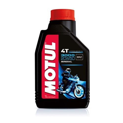 Motul 3000 20W50 4 T 1 Litre Motosiklet Yağı