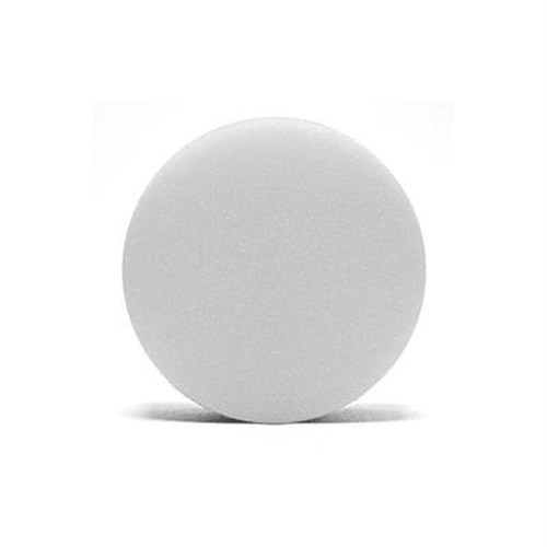 Lake Country White Foam Flat Polishing Pad 152 Mm
