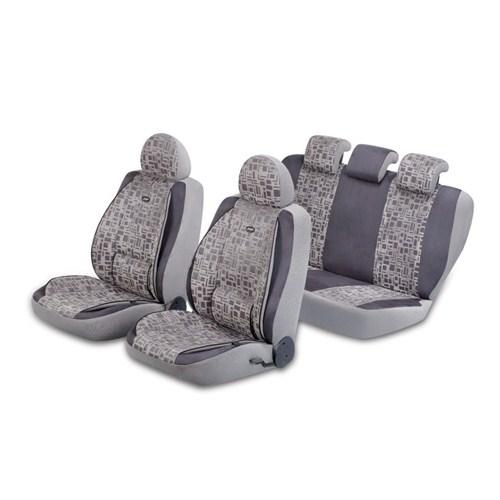 Pufi NANO Kumaş Ortepedik Premium Elegant Airbag Uyumlu Universal Koltuk Kılıf Seti 132