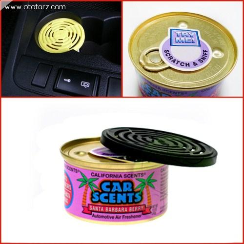 California Car Scents Santa Barbara (Karışık Meyve) Kokusu (Made in U.S.A.)