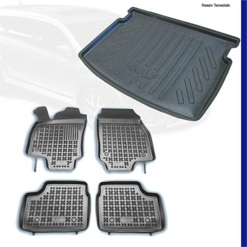 Chevrolet Cruze 3D Paspas + Bagaj Havuzu (İnce Stepne) 2013 Üzeri